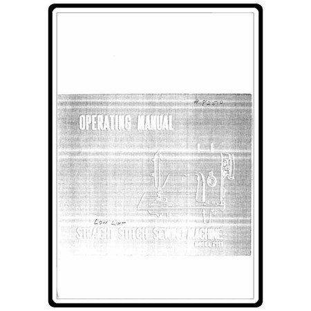 Instruction Manual, White 7911