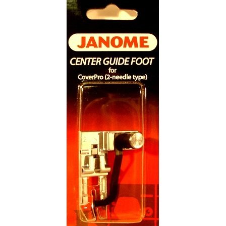 Center Guide Foot, Janome #795820102