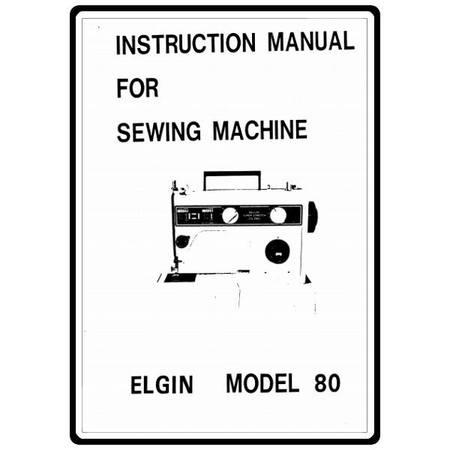 Instruction Manual, White 80