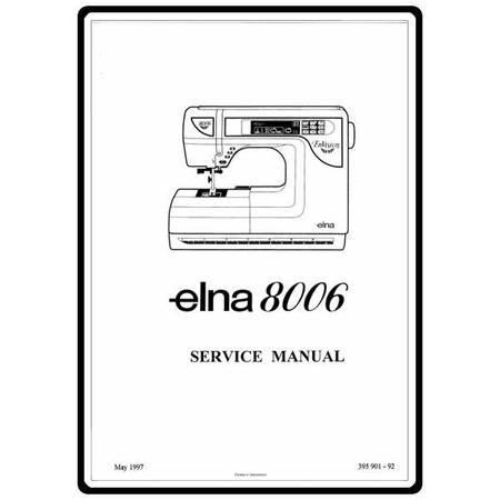 Service Manual, Elna 8006 EnVision