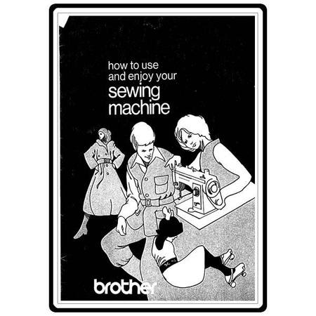 Instruction Manual, Brother 8015