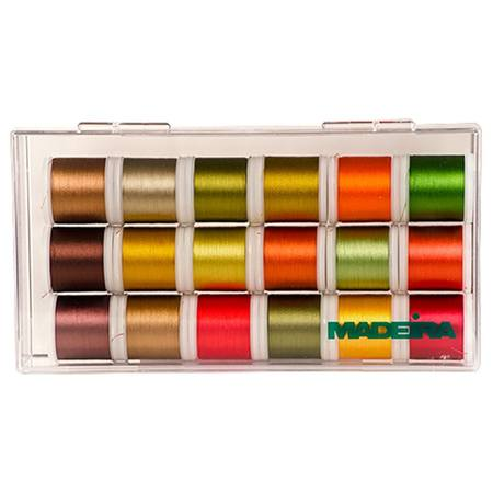 Autumn Themed Thread Kit, Madeira, 220yds