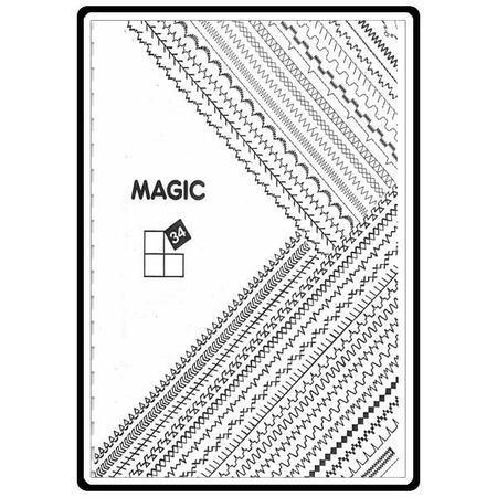 Instruction Manual, White 8234
