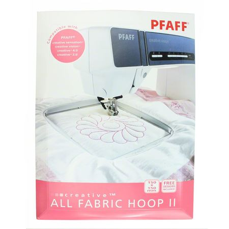 "All Fabric Hoop II 5.9""x5.9"", Pfaff #820889-096"