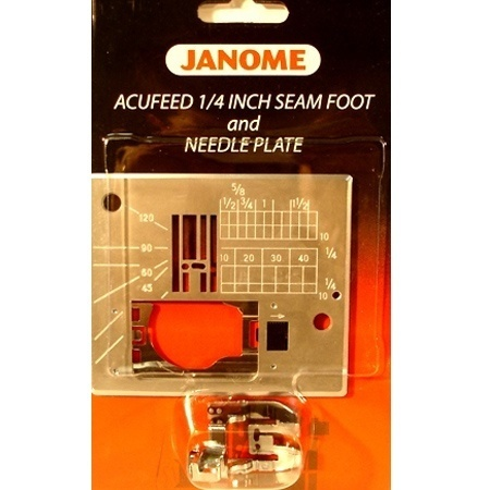 "1/4"" Seam Foot w/ Needle Plate #846407007"