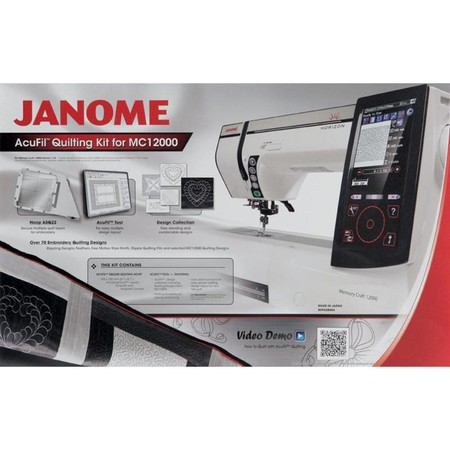 Acufil Quilting Kit, Janome #859428004