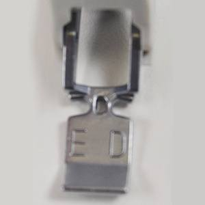 Dual Feed Zipper Foot ED (Single), Janome #859838001