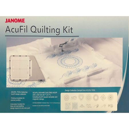 AcuFil Quilting Kit, Janome #862412005