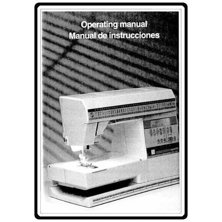 Instruction Manual, White 8800