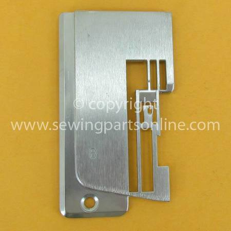 Coverstitch Needle Plate (B), Janome #888200008