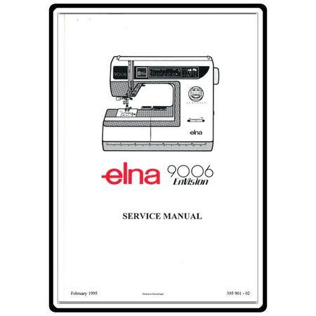 Service Manual, Elna 9006 EnVision