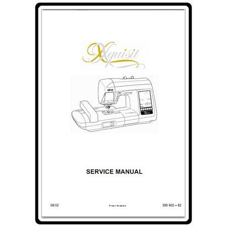 Service Manual, Elna 9010