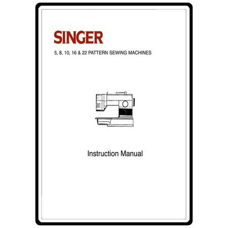 Instruction Manual, Singer 9030
