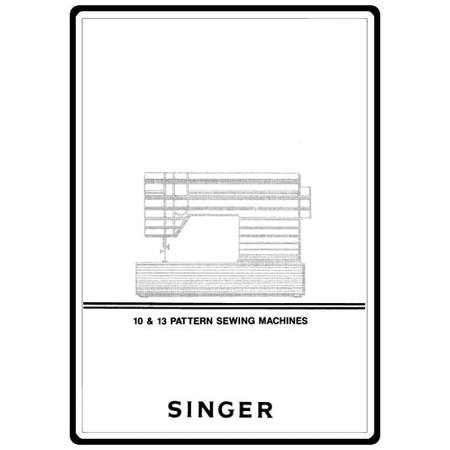 Instruction Manual, Singer 9113