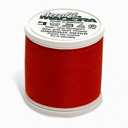 Madeira Aerofil Sew-All Thread - 110yds - Red