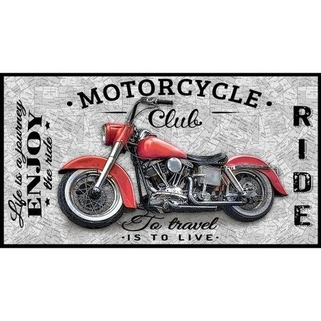 Coast to Coast, Motorcycle Fabric Panel