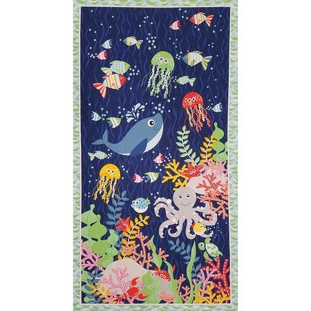 Sea Buddies Fabric Panel