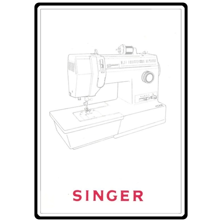 Instruction Manual, Singer 93234
