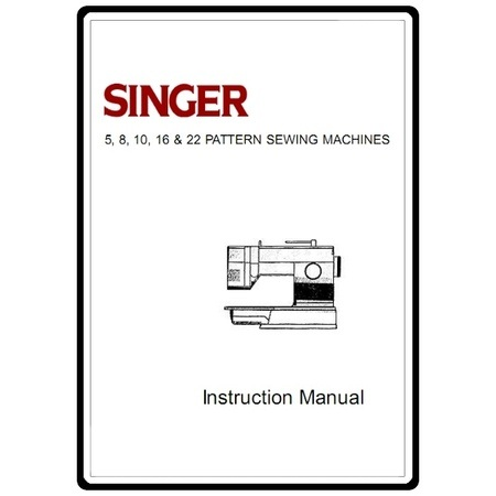 Instruction Manual, Singer 9410