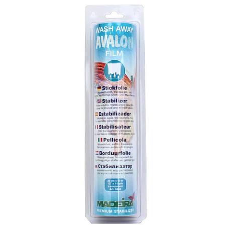 """Avalon Ultra 12""""x3.3 Yds, Wash Away Film Stabilizer, Madeira"""