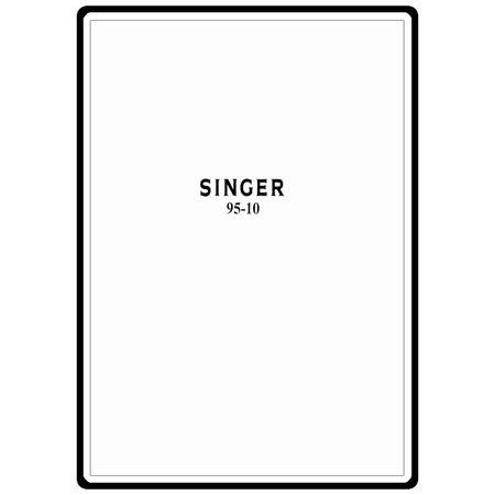 Instruction Manual, Singer 95-10
