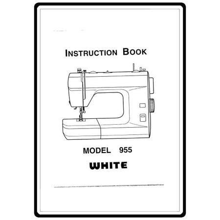 Instruction Manual, White 955