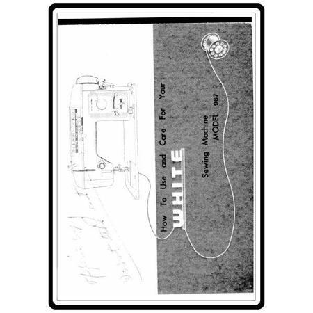Instruction Manual, White 967