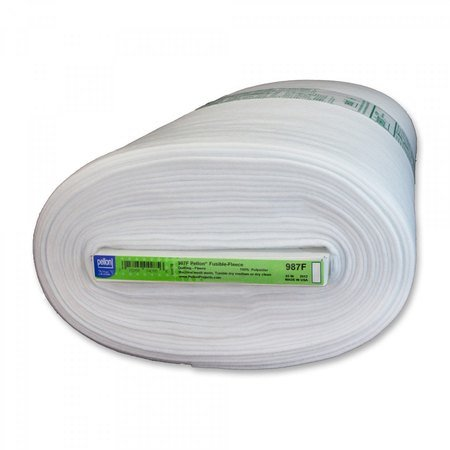Mediumweight Fusible Fleece, Pellon, White - 45in Wide