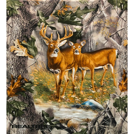 Realtree Deer Fabric Panel, Terry Doughty