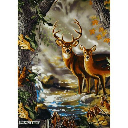 Realtree Deer Fabric Panel, Dona Gelsinger