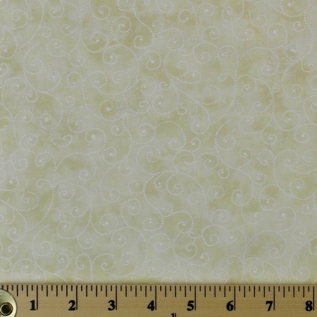 Moda Classic, Marble Swirls, Baby White Fabric