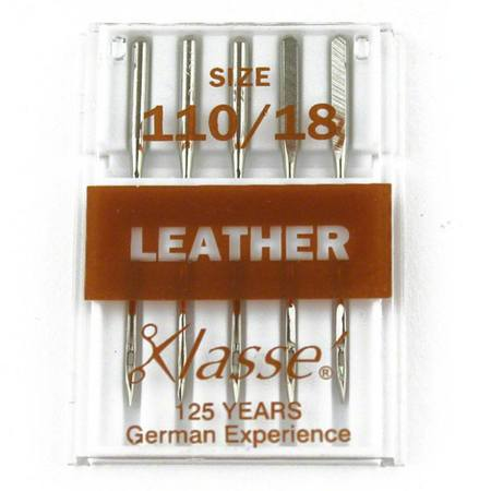 Leather, Klasse (5pk), Size 110/18, #A5-104110