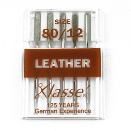 Leather, Klasse (5pk), Size 80/12, #A5-10480
