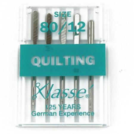 Quilting, Klasse (5pk), Size 80/12, #A5-14880