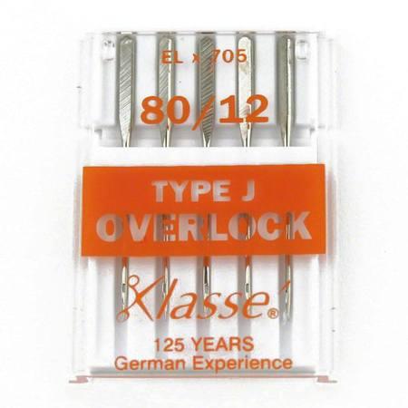 5pk EL705 Needles, Size 80/12, Klasse #A5-170J