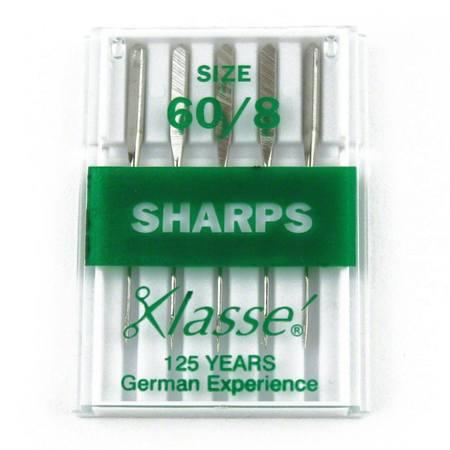 Sharps, Klasse (5pk), Size 60/8 #A6-13560