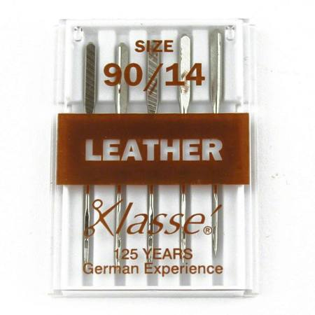 Leather, Klasse (5pk), Size 90/14, #A6-14090