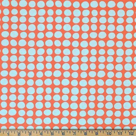 Amy Butler, Love, Sun Spots, Tangerine Fabric