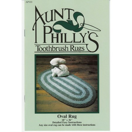 Aunt Philly's Oval Toothbrush Rug Pattern