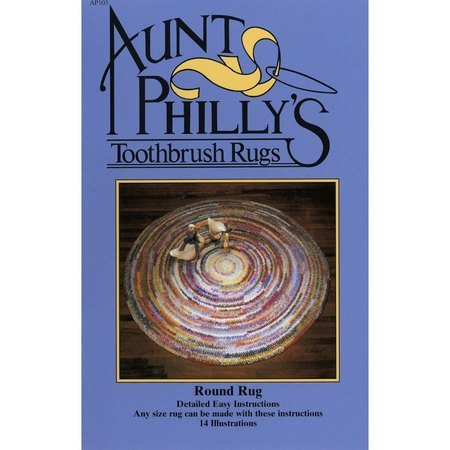 Aunt Philly's  Round Toothbrush Rug Pattern