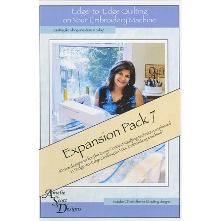 Edge-to-Edge Expansion Pack 7, Book and Embroidery CD