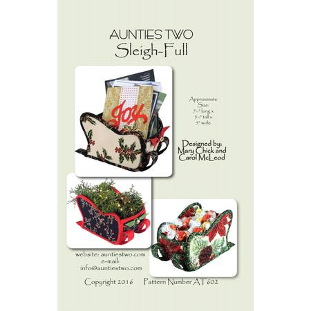 Sleigh-Full Pattern, Aunties Two Patterns