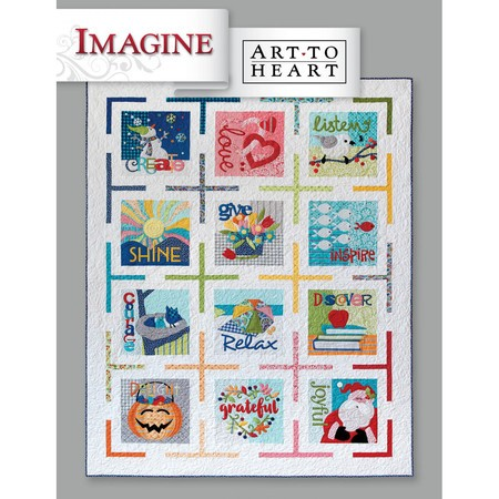Imagine, Block-of-the-Month Book, Art to Heart