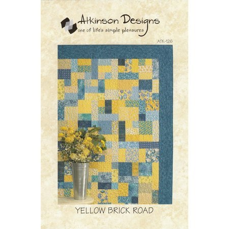 Yellow Brick Road Pattern, Atkinson Designs
