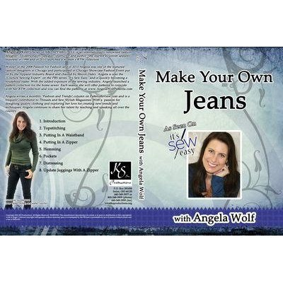 Make Your Own Jeans DVD, Angela Wolf
