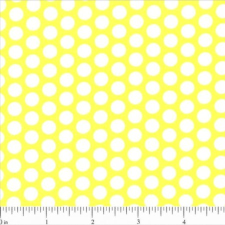 Lots of Dots Fabric - Yellow