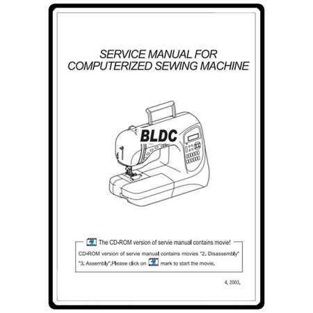 Service Manual, Babylock BLDC Decorator's Choice