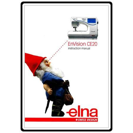 Instruction Manual, Elna CE20 EnVision