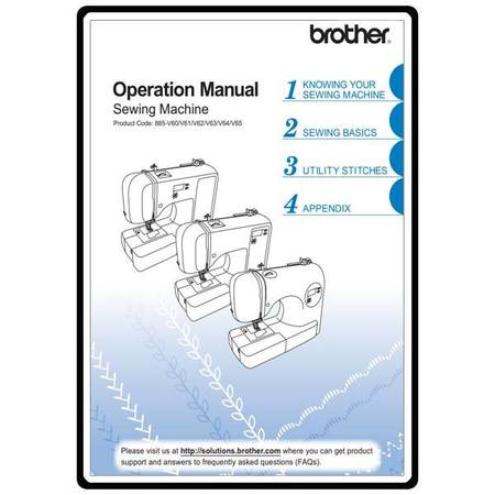 Instruction Manual, Brother CE-8080PRW