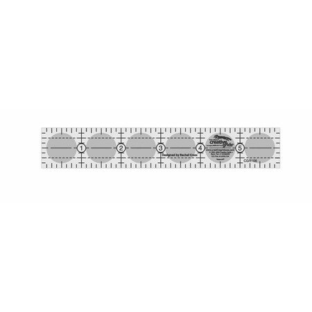 "Quilting Ruler 1"" x 6"", Creative Grids"